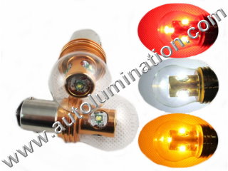 24 Watt Cree Osram 1157 Dual Circuit 1034 1076 1077 1154 1158 2057 2357 2397 7528 Tail Light Turn Signal Bulb