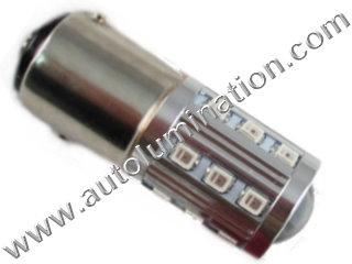 22 led 2835 1157 Dual Circuit 1034 1076 1077 1154 1158 2057 2357 2397 7528 Tail Light Turn Signal Bulb