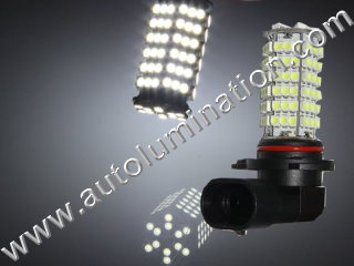 9005 P20d HB3A Right Angle Cool White 120 Led Headlight Bulb Running Fog Light