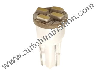 24 T6.5 T6-1.2 T2-1/4 4LED 3015 Bulbs led bulbs