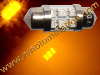 29mm festoon 3022 Led Amber