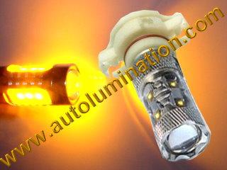 5202 H16 H16W 9009 PSX24W PWY24W PSY24W 2504 5201 5301 5202 8L8Z13N021A Led DRL Fog Light Bulb Amber Yellow Osram 50 watt Cree