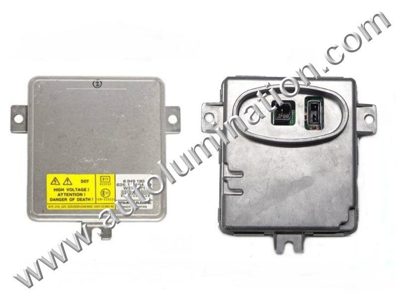 Ballast 12v 35 Watt HID OEM PN:Mitsubishi 6948180 63126948180 W3T13271
