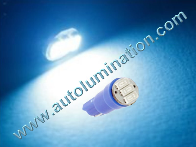 Wedge T5 T5.5 Samsung led Neowdge  bulbs LED Bulbs Ice Blue