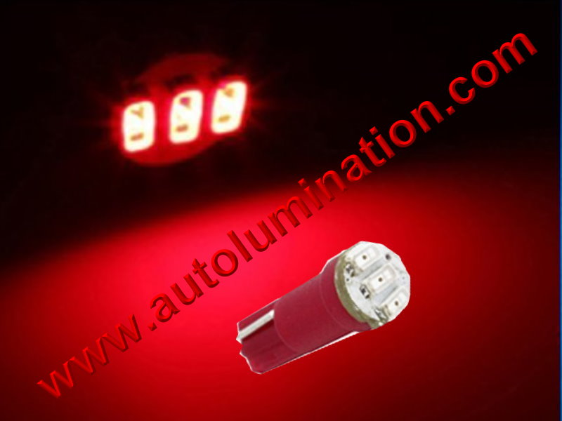 Wedge T5 T5.5 Samsung led Neowdge  bulbs LED Bulbs Red
