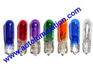 74 37 2721 T5 Wedge Bulbs for Instrument panels and Gauges