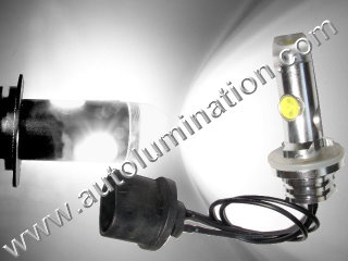 800 (Series) 880 894 885 890 892 893 PG13 Straight Base 6000K Super White LED 12 Watt High Powered Headlight Bulb