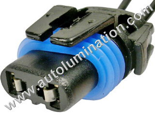 9005 P20d HB3A Female Socket Pigtail Connector Wire