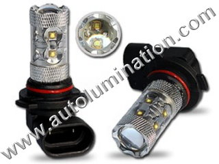 9005 P20d HB3A 6000K Super White LED 50 Watt Osram High Powered Headlight Bulb