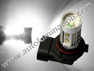 9005 P20d HB3A 6000K Super White LED 25 27 Watt Osram High Powered Headlight Bulb