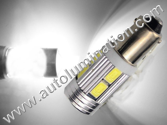 Bax9s Ba9s Led Bulb 2825 10 led Optical H6W 64132