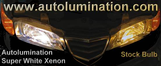Xenon Super White Headlights superlumination