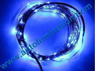 copper wire Led fairy lights  10 Meter 100 Blue