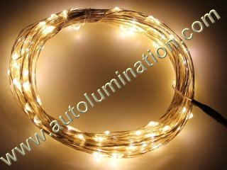 copper wire Led fairy lights  10 Meter 100 Warm White