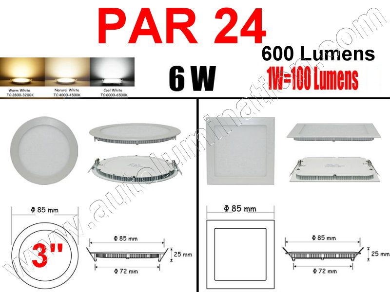 Cree Recessed Led Ceiling Panel Down Lights PAR 24