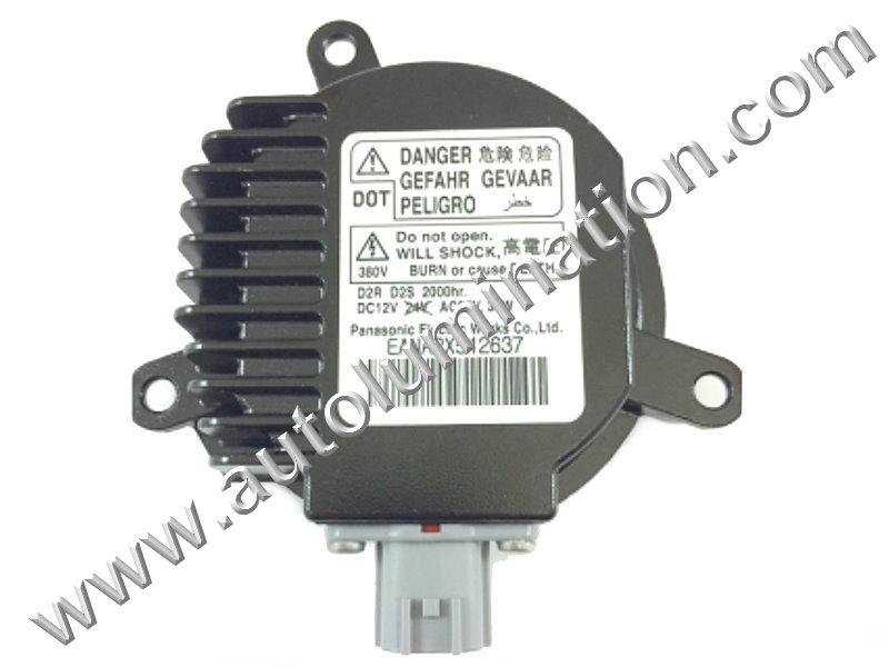 Ballast 12v 35 Watt HID OEM PN: Panasonic EANA090A0350 EANA2X512637