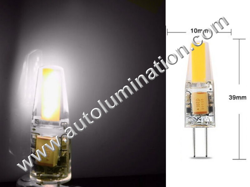 2 Pin G4 Bi-Pin Led Bulb 12v Dimmable Replaces 891 7371 7373 7382 Cool White