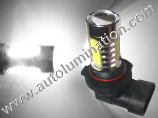 H11 PGJ19-2 6000K Super White LED 12 Watt High Powered Headlight Bulb