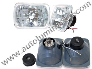 H4651 H4652 H4656 H4666 H4668 H6545 H4701 H4703 4651 4652 4656 4666 4668 4701 4703 6545 Halogen Sealed Beam Conversions Headlight