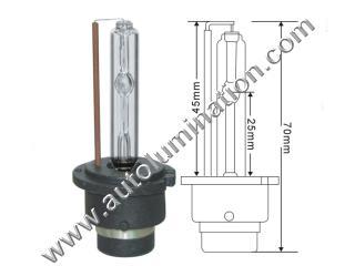 D2 C R S 6000K HID Bulb Base Socket Connector