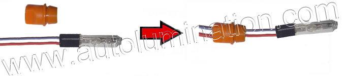 6000K HID Reverse light and DRL Light Bulb Installation Instructions