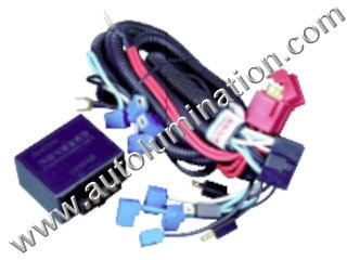 H1 Halogen Headlgiht Intensifier brightener Brighter Relay Harness