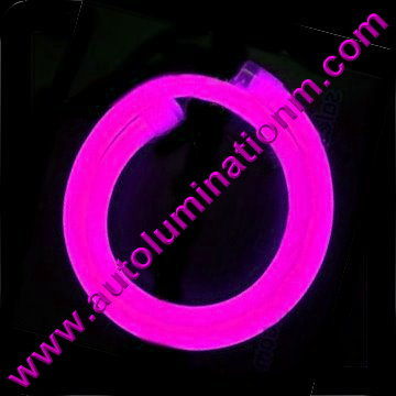 Flexible Neon LED EL Wire Tubing Pink