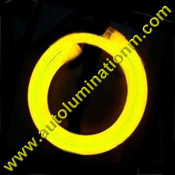 Flexible Neon LED EL Wire Tubing Yellow