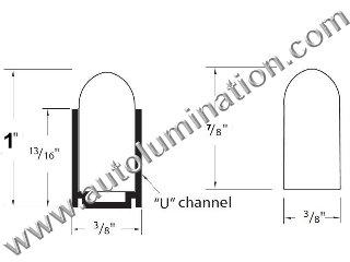LED Neon Tubing Shrink Tube Aluminum Channel