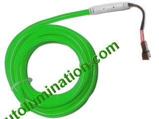 Neon KPT EL Wire Tubing Green