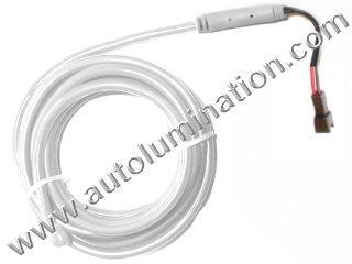 Neon KPT EL Wire Tubing White