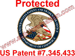 Autolumination Patent 7,345,433