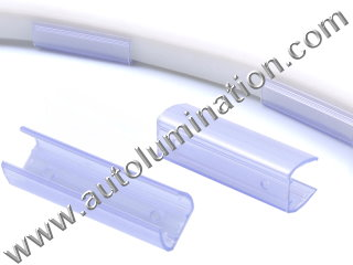 LED Neon Tubing Shrink Tube Plastic Channel