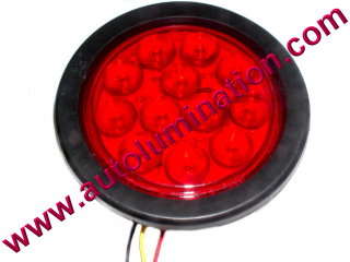 Truck Trailer RV Tail Brake Turn Signal Red Led Light
