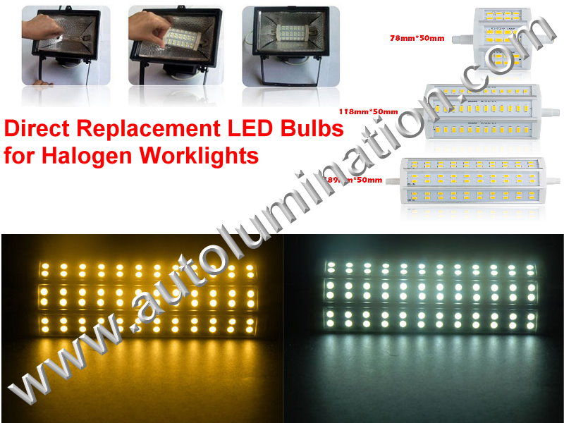 r7s Led Porable Work Light  Replacement Bulbs
