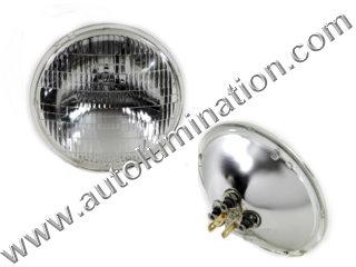 6 Volt Sealed Beam Bulb 4020 PAR46 5-3/4 67717-59 Wagner GE Tractor Harley Davidson Headlight Fog Light Wagner Sylvania