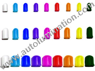 Silicone Colored Bulb Cap