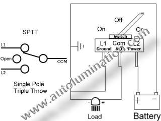 Wire on wiring diagram for triple light switch
