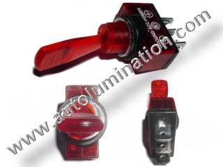 Lighted Toggle Switch 12 volt