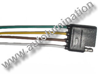 4 wire Trailer Connector Male Female