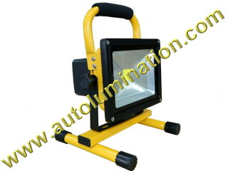 10 Watt Rechargeable Led Work Trouble Utility Flood light  Worklight Floodlight  Li - Ion